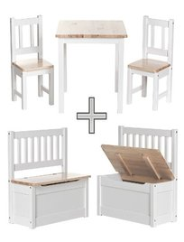 kindersitzgruppe holz kindertisch mit st hlen top 12 angebote. Black Bedroom Furniture Sets. Home Design Ideas